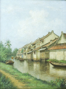 Chinese huizen in Oud-Batavia