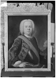 Portret van Jan Nicolaas Floris van Nassau -la Lecq (1709-1782)