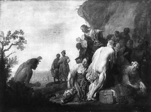 Odysseus en Nausikaä