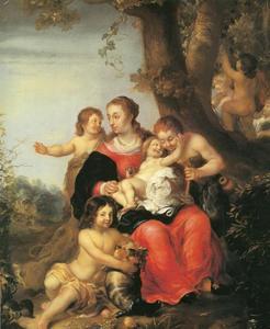 Allegorie op de erfopvolging van het hertogelijk geslacht Gottorf
