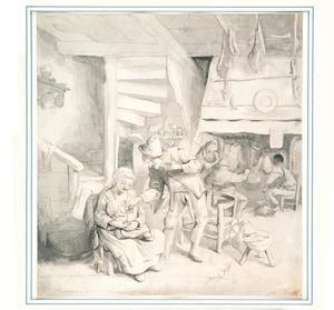 Een boerenkeuken