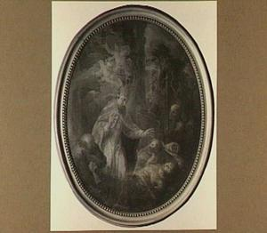 St. Eligius bij de pestlijders