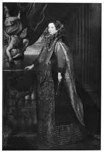 Portret van Caterina Balbi (?-?), echtgenote van Marcello Durazzo (1593-1630)