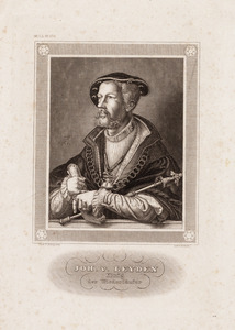 Portret van Jan Beukelsz. van Leiden (1509-1536)