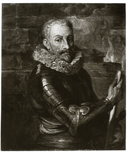 Portret van Johan T'Serclaes, graaf de Tilly (1559-1632)