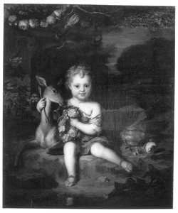 Portret of Pieter Rendorp (1703-1760) als Amor