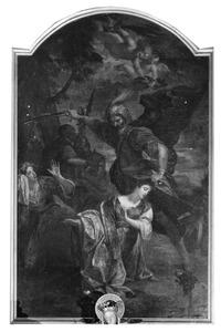 De onthoofding van de H. Barbara door haar eigen vader