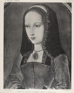 Portret van Johanna van Aragon