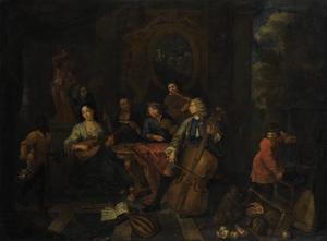 Musicerende gezelschap