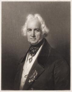 Portret van Christian Daniel Rauch (1777-1857)