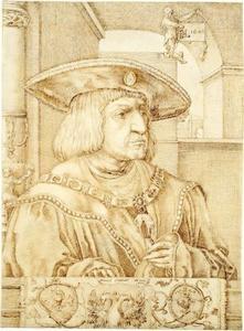 Portret van keizer Maximiliaan I (1459-1519)