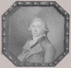 Portret van een onbekende man, mogelijk uit de familie Blaauw