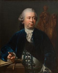 Portret van Jacques-François-Joseph Saly (1717-1776)