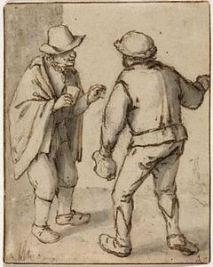 Twee boeren in gesprek