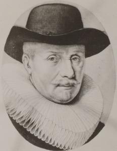 Portret van Jacob Backer (1572-1643)