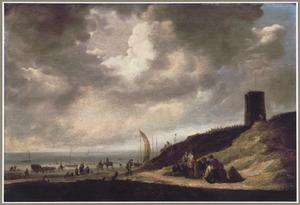 Strandgezicht bij Egmond