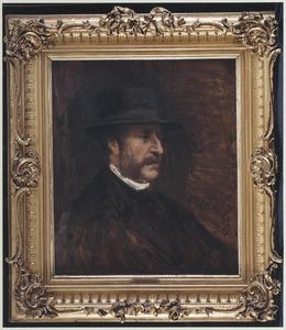 Portret van Jacob Lambert Muijser (1818-1904)