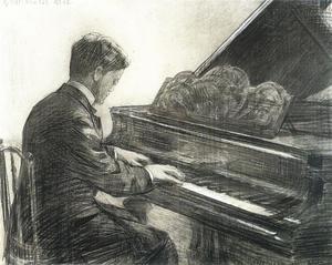 Portret van Marinus Mathijs Ritsema van Eck (1880-1948)