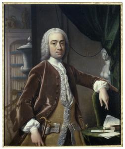 Portret van Jan Teding van Berkhout (1713-1766)