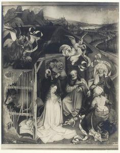 De aanbidding van de herders in aanwezigheid van de vroedvrouwen