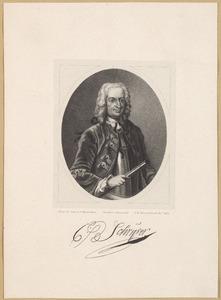 Portret van Cornelis Schrijver (1686-1768)