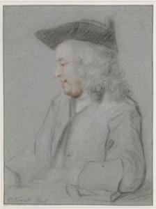 Portret van Pieter Tanjé (1706-1761)
