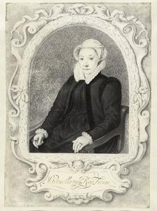 Portret van Petronella Lievensdr. van Roy (1542-1606)