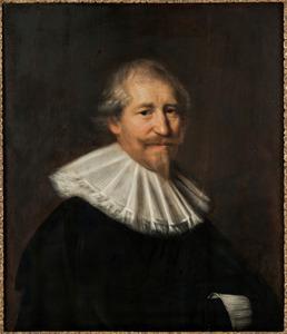 Portret van een man genaamd Hendrik Roos (1586-1630)