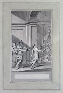 Illustratie bij 'Herodes en Herodias' uit de Fabelen en vertelsels van F.C. Gellert