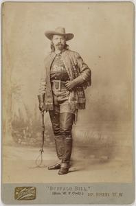 Portret van Buffalo Bill