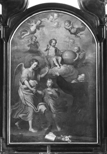 Het visioen van de H. Antonius van Padua