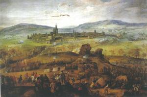De Slag bij Zablati, nabij Pracchatice in Bohemen, 10 juni 1619