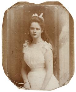 Portret van Johanna Antonia Camerling Helmolt (1883-1960)