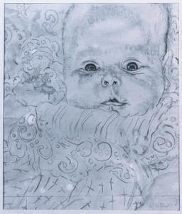 Portret van Elisa Sluijters (1924-2010)