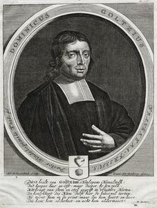 Portret van Dominicus Goltzius (1644-1721)