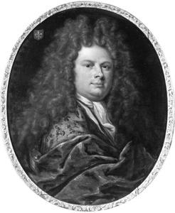 Portret van een man, waarschijnlijk Theodorus Rijswijk (1668-1729)