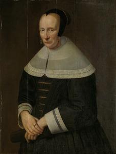 Portret van een 60-jarige vrouw