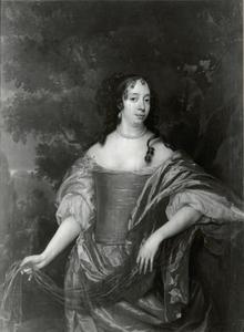 Portret van Albertine Agnes van Oranje-Nassau (1634-1696)