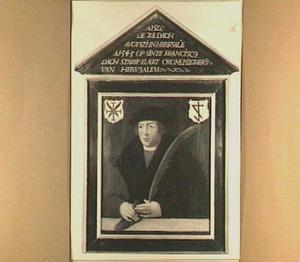 Epitaafportret van de Jeruzalemvaarder Elaert Cromme (....-1545)