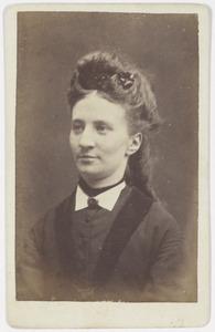 Portret van Aemilia Wiskjen de Swart (1842-1896)
