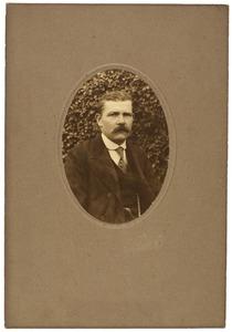 Portret van Rudolphus Merkelbach (1871-1944)