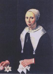 Portret van Trijntje Jans ( -1713)