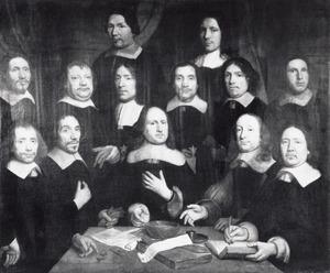 Muntmeesters en waardijns van de Munt van Holland te Dordrecht