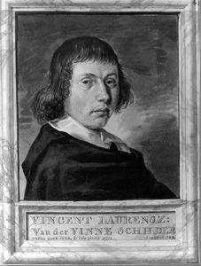 Portret van Vincent Laurensz. van der Vinne (1628-1702)