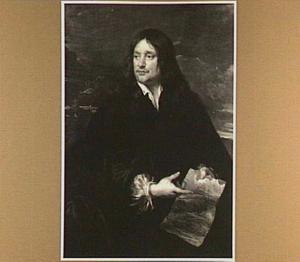 Portret van een onbekende landschapsschilder