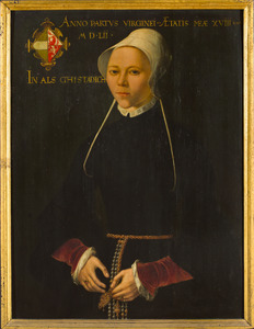 Portret van Nelle Buyck (1534-1563)