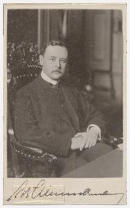 Portret van Alfred Rudolf Zimmerman (1869-1939)