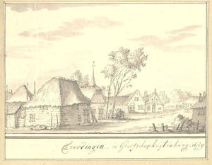 Everdingen, gezicht in het dorp 1659