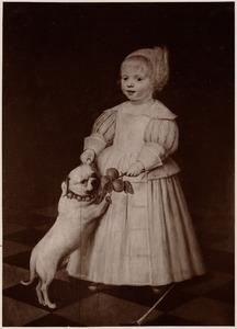Portret van een persoon genaamd Jan van der Aa