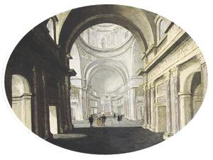 Interieur van Il Gesù in Rome